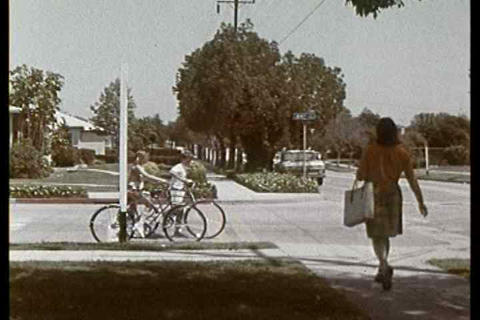 Obey all traffic laws when riding your bicycle Footage