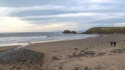 Walk on the Beach Footage