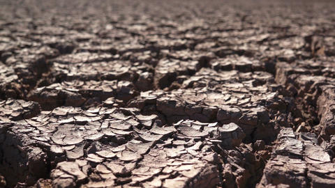 Environmental Cracked Dry Earth Footage