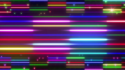 Neon tube W Ybm S S 5 HD Animation