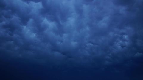 Storm cloudscape Footage