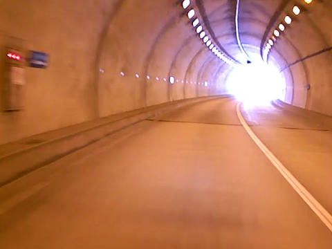 Tunnel stock footage