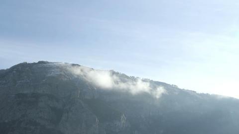 Mountain timelapse in winter Footage