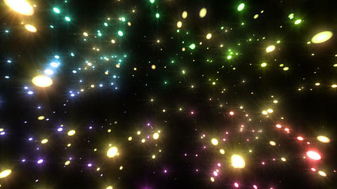Sparkle Particles LB 2f HD Animation