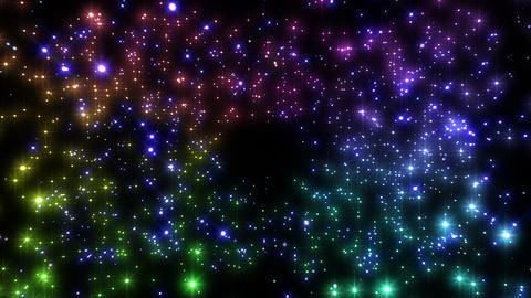 Sparkle Particles SA 5 HD Animation