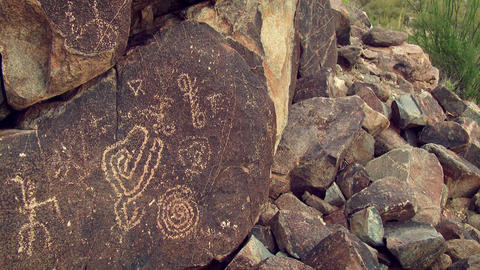 Petroglyphs Footage