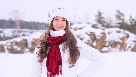 Winter Girl Footage