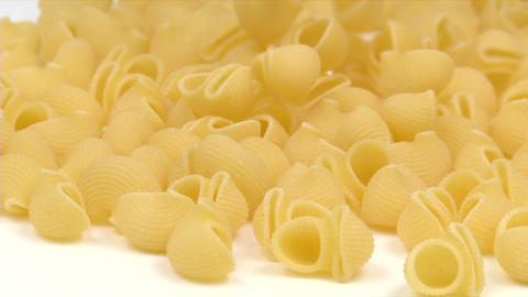 Pasta Pipe Fill stock footage