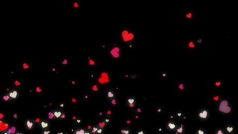 Loopable Rising Heart alpha HD, Stock Animation