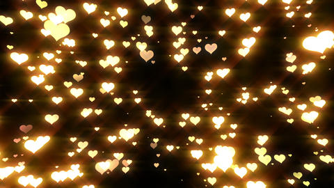 Sparkle Heart Particles LA 1 HD Animation