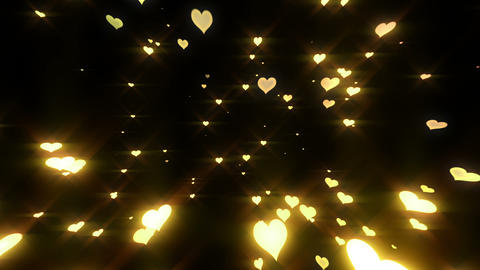 Sparkle Heart Particles LB 1 HD Animation