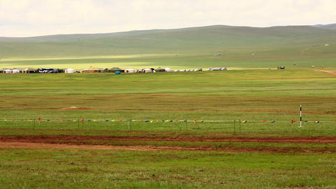Stallion Horse Race 2013 Finals, Mongolia Footage