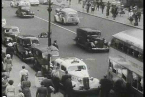 A vocational film from the 1940's explains how to  Footage