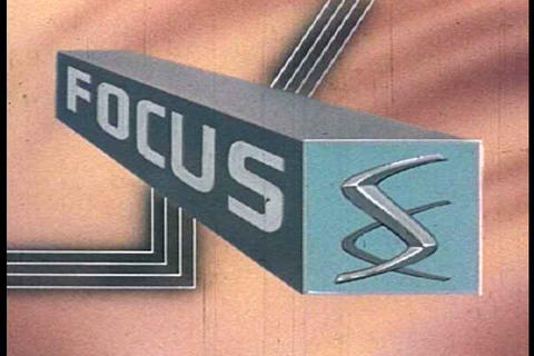 An old fashioned focus strip from a 1960''s movie  Footage