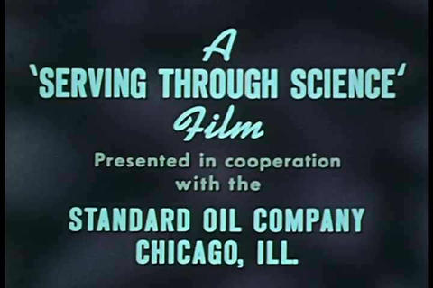 After corny credits, we see how gasoline effects o Footage