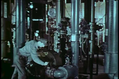 The basic workings of a crude oil refinery from th Live Action