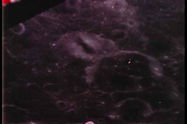 Apollo 11 Eagle Spacecraft Docks With Columbia stock footage