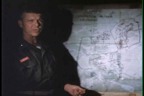 Marines Talk About Operation Hastings And Prarie I stock footage