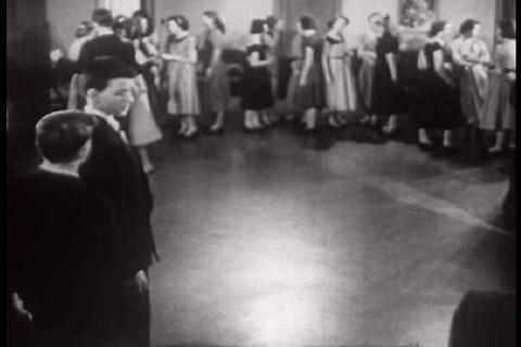 How to behave and proper etiquette at the dance pa Stock Video Footage