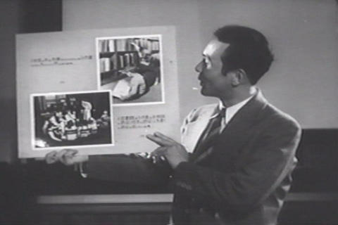 Film distribution in Japan after World War Two Footage