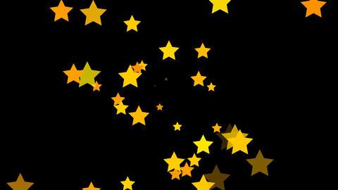Stars Yellow Animation
