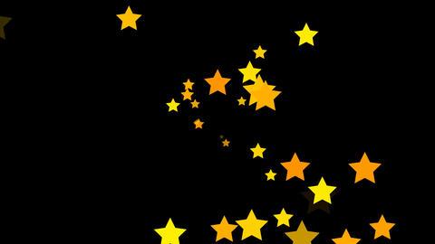 Stars Yellow Stock Video Footage