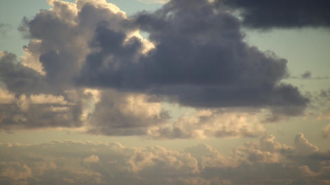 Drifting Clouds Stock Video Footage