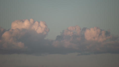 Clouds Evening Stock Video Footage