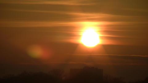 Bright Sunrise Stock Video Footage