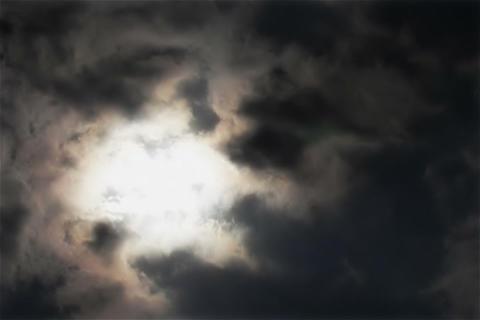 Cloud of SKY TYPE06 mov Sun Stock Video Footage