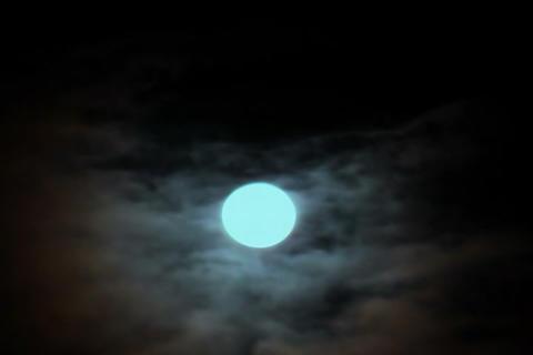 Cloud of SKY TYPE08 mov moon Stock Video Footage