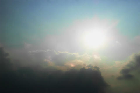 Cloud of SKY TYPE12 mov Sun Stock Video Footage