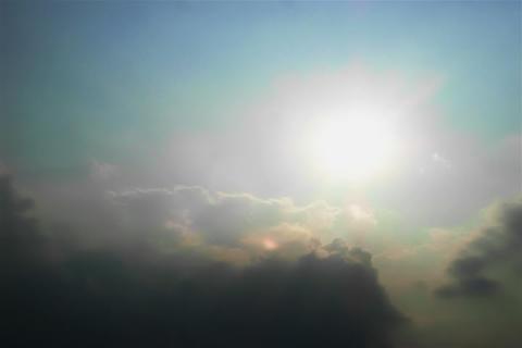 Cloud of SKY TYPE12 mov Sun Footage