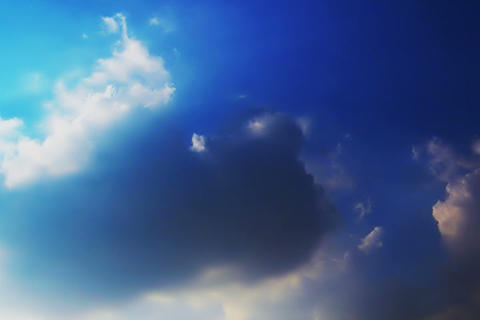 Cloud of SKY TYPE14 Stock Video Footage