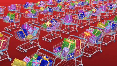 Shoppingcart Line Bpp Stock Video Footage