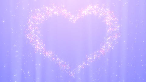 Glitter Heart KH AfB HD Stock Video Footage