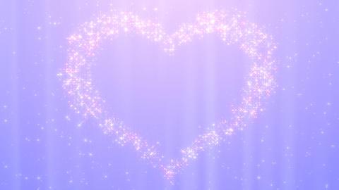 Glitter Heart KH AfB HD Stock Video Footage