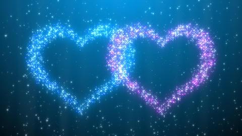 Glitter Heart KH AfC HD Stock Video Footage