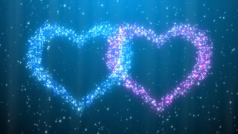Glitter Heart KH AfC HD Animation