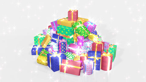 Present Pile1 B HD Animation
