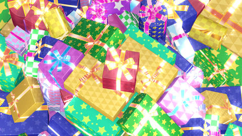 Present Pile3 B HD Stock Video Footage