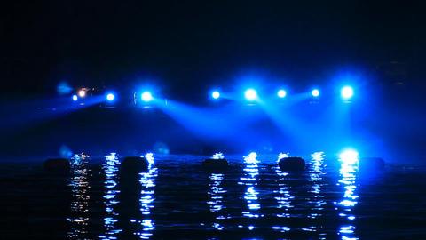 Lighting on the Sea Footage
