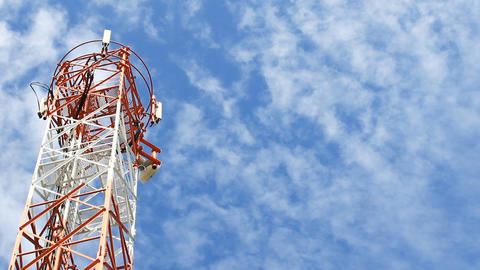 Telecommunication Mast Footage