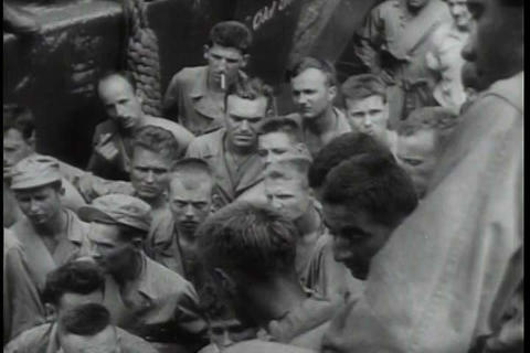 The 6th infantry division battles Japanese soldier Footage