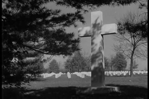 The Men Who Gave Their Lives In World War 2 Are Ho stock footage