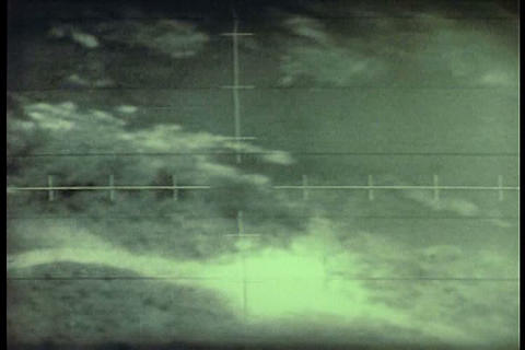 A silent film of Air Force personnel flying planes Footage