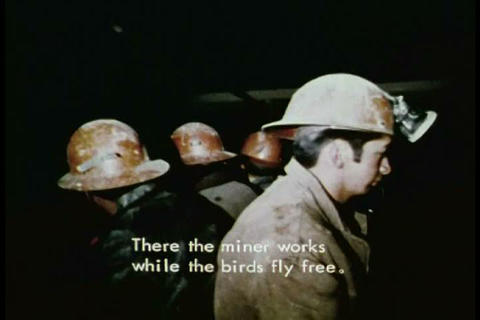Mine workers in Latin America become utterly depen Footage