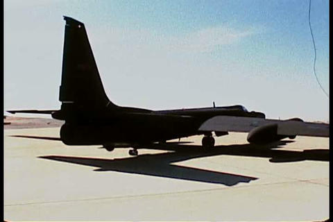 After days of preparation an Air Force pilot lifts Footage