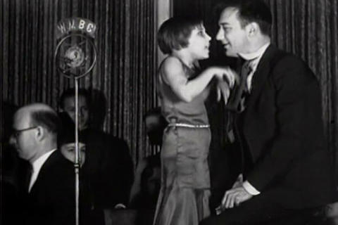 Child Performers Go On The Radio In 1931 stock footage