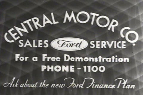 Theatrical trailers for Ford automobiles in 1931 Live Action